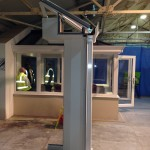 Ultraframe Loggia Glazed Extension pillars