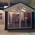 Ultraframe Loggia Glazed Extension front view